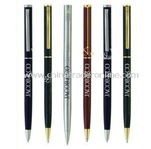Metal Ball Pen with Customized Logo, Promotion Gift