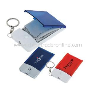 Key Light with Glasses Cleaning Cloth from China