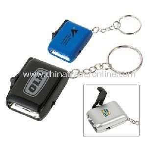 LED Dynamo Keychain