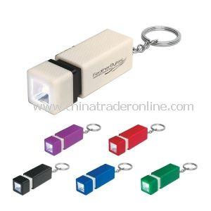 LED Flashlight Keychain from China