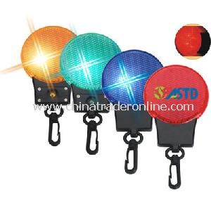 Reflective LED Marker with Keychain
