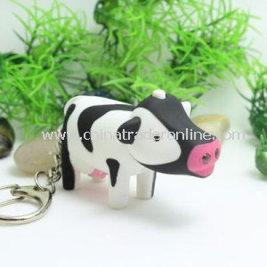 LED Animal Keychain Light