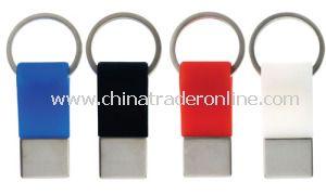 Custom Metal Ribbon Keychain from China