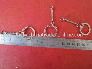 Metal Keychains, Gifts Keychains with Snake Chains, Cheap Price Keychains