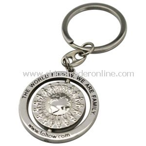 2013 Free Sample Metal Keychain from China