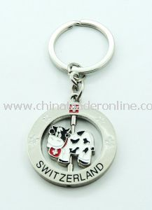 Custom High Quality Metal Keychain with Keyring