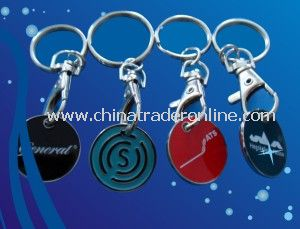 Metal Coin Keychains