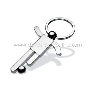 Metal Sports Keychain