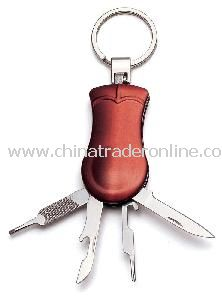 Multifunctional Metal Tool Keychain