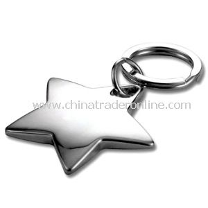 Promotional Gift Regular Star Metal Keychain