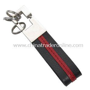 PU Leather Metal Keychain