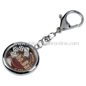 SGS Certified Metal Promotional Keychain from China
