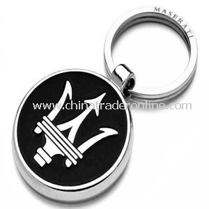 SGS Certified Metal Rotatable Keychain