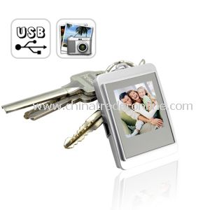 1.5 Digital Photo Frame Keychain from China