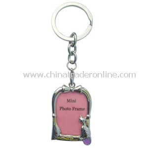 New Design Metal Photo Keychain with Logo, OEM Are Accepted, Customized Are Welcomed