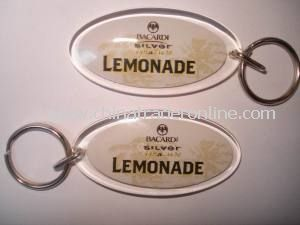 Plastic Photo Keychains, Waterproof Photo Keychain, Easy to Operate, Available in Various Colors, OEM Order Are Accepted from China