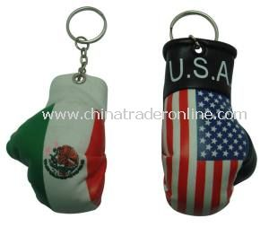 Promotional Mini Boxing Gloves Keychain with High Quality and Fashionable