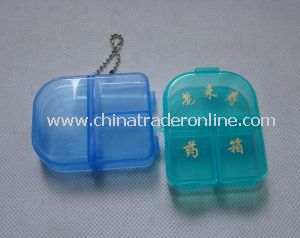 Promotional Pill Case Keychain