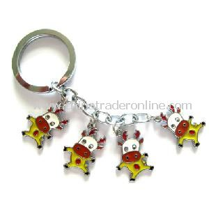 Promotional Soft PVC 3D Fancy Keychain with Popular and Fashionable
