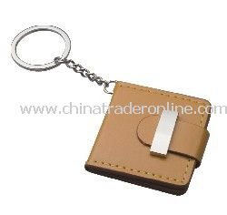 PU Leather Photo Frame Keychain