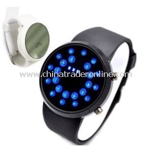 Boust Mens Ladys LED Circle Dial Digital Sports Watch