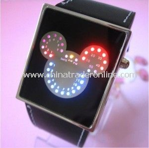 Fashion Silicone LED Wrist Watch Sports Watch Digital Watch