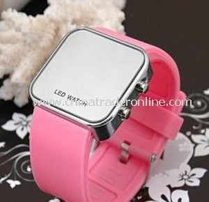 Fashion Trends LED Sports Silicone Watch