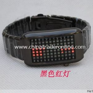 Fashionable LED Digital Unisex Silicone Wrist Watch