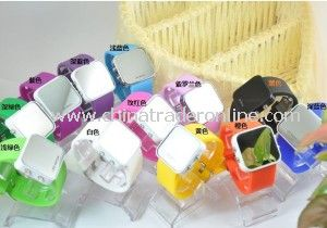Promotional Mirror Watch LED Silicone LED Watch