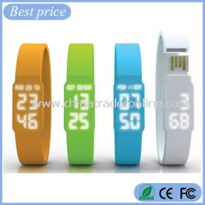 USB Flash Drive Wrist LED Watch