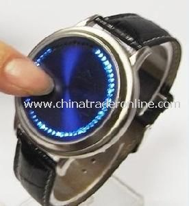 Designer Touch Screen LED Flashing Light Watch