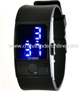 2014 New Casual Men LED Electronic Wrist Watches