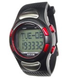 PC2008 Wrist Pulse Pedometer Watch Heart Rate Monitor Watches