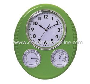 2013 New Weather Station Wall Clocks with Temperture