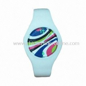2014 Promotional Gifts Fashion Cheap Silicon Watch