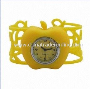 2014 Promotional OEM ODM Watches Free Samples Silicone Watch from China