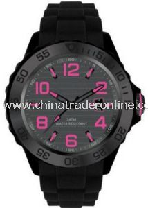 3ATM Waterproof Silicone Watches for Business Promotional Gifts Items 2014