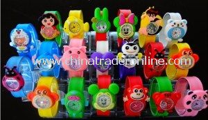 Cute Promotional Fancy Fashion Cheap Slap Silicone Watch