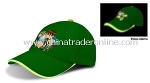 Flashing Caps Incl LED Flash Safety Baseball Caps from China