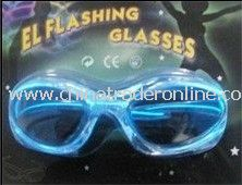 Light up EL Flashing Glasses