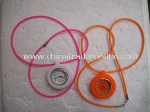Long Silicone Wrap Promotional Watch