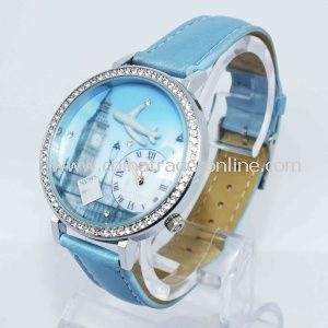 Luxury Promotional 3ATM Waterproof Gift Watch from China