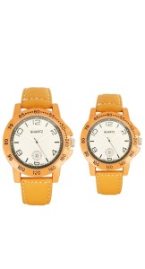 Promotional Couple Wrist Watch from China