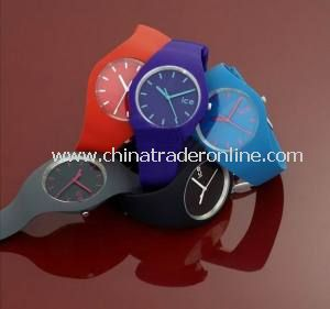 Promotional Silicone Watch for Men and Women from China