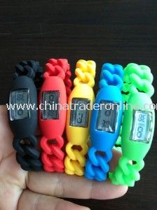 Silicone Digital Promotional Watch
