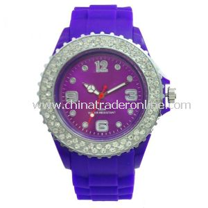 Wholesale Promotional Diamond Ice Watches