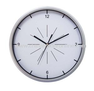 12inch Plastic Wall Clock from China