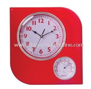 2013 New Weather Station Wall Clocks with Temperture from China