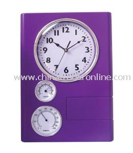 2013 Weather Station Wall Clocks with Temperture/Humidity