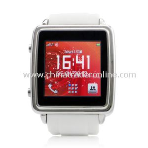 2014 Fashion Bluetooth Watch with Earpiece MP3, MP4 Player from China